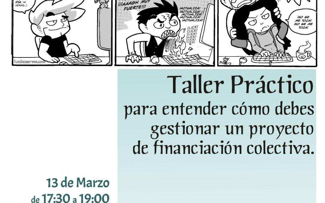 Taller Crowdfunding Saloncito del Cómic UBU