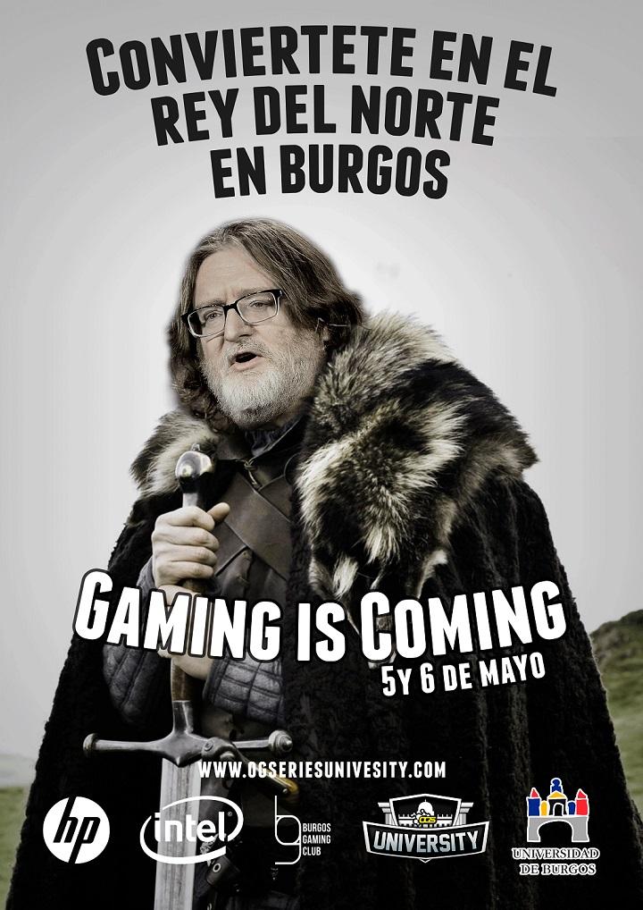 Finales Ogseries University en Burgos Gaming is coming