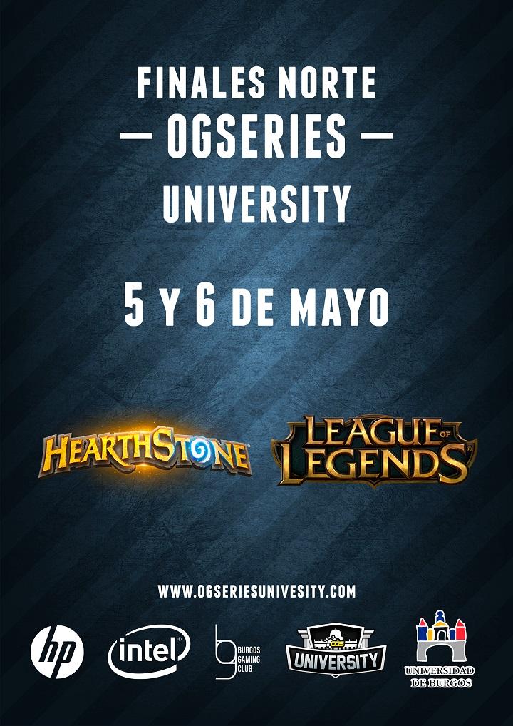 Finales Ogseries University en Burgos Gaming zona norte