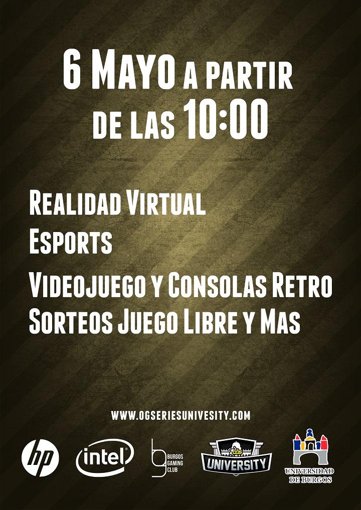 Finales Ogseries University en Burgos Gaming 6 de mayo