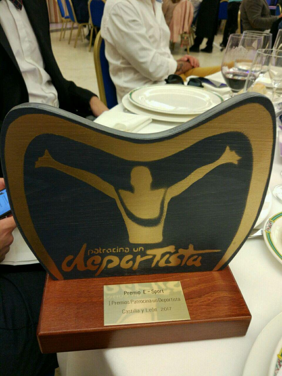 Premio Esports Patrocina un Deportista Castilla y León Burgos Gaming Club
