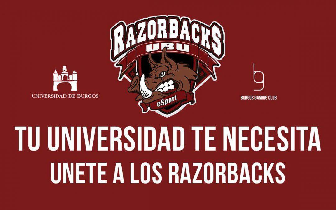 Razorbacks UBU Inscripciones